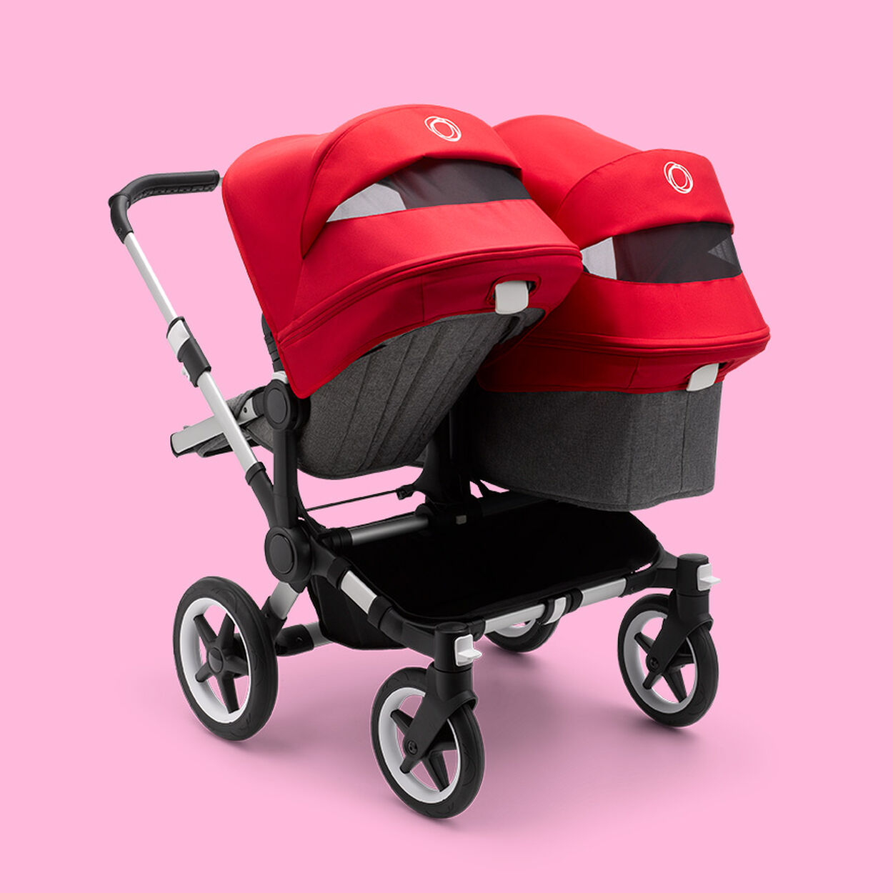 Back of Donkey 3 Duo stroller