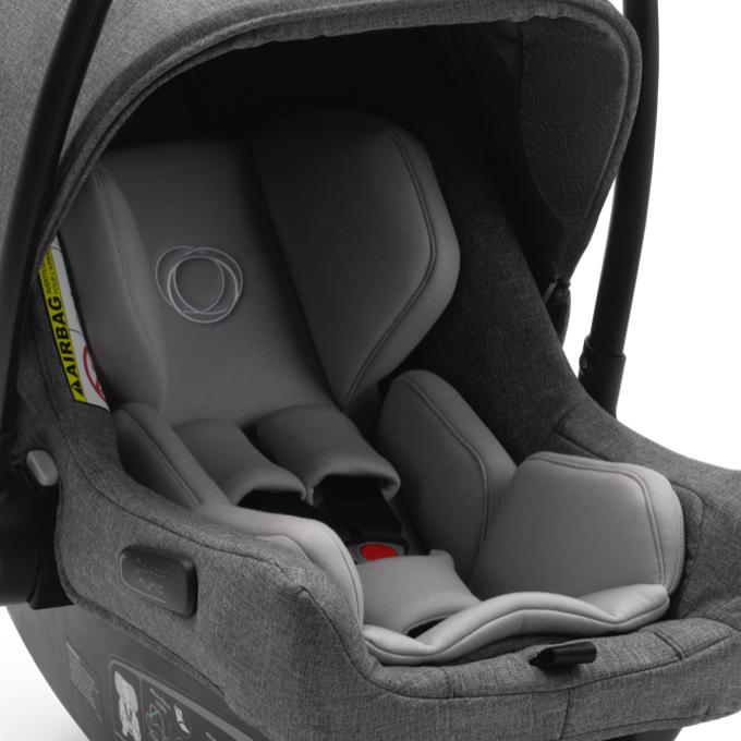 Bugaboo Turtle Air by Nuna seggiolino auto grigio con riduttore per neonato