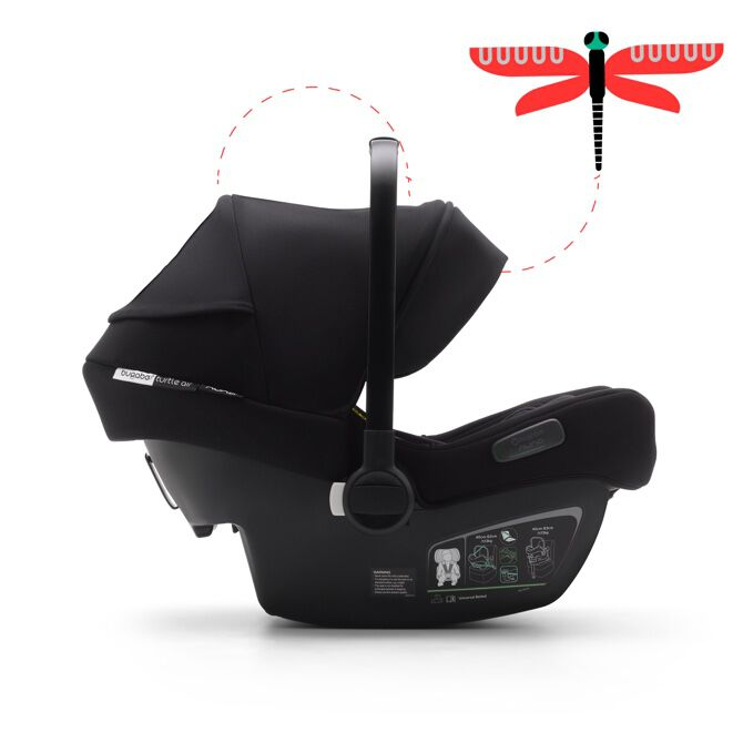 Bugaboo Turtle Air by Nuna black car seat