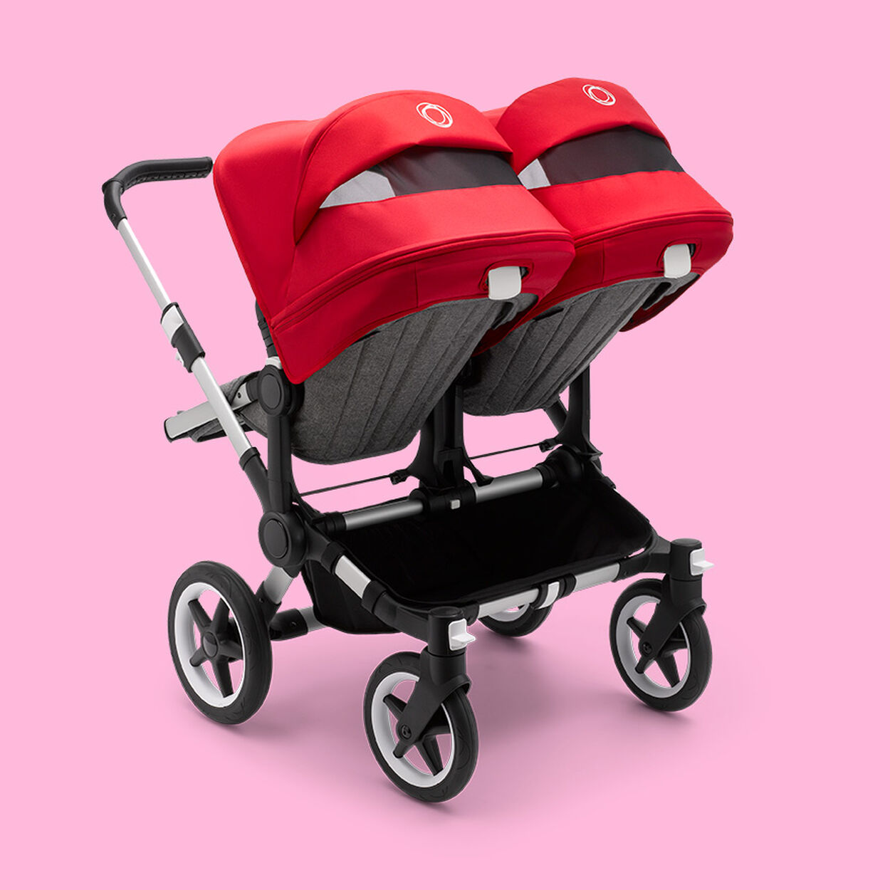 Back of Donkey 3 Twin stroller