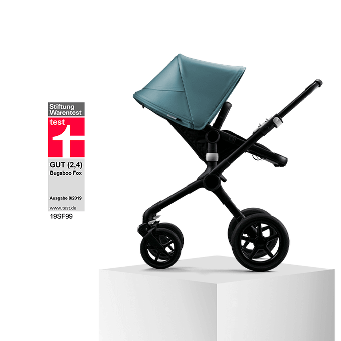 Bugaboo Fox, 1st in Safety by Stiftung Warentest