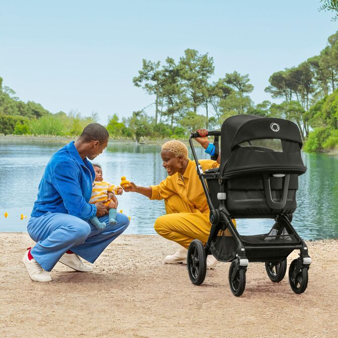 Go further than ever imagined. The ultimate comfort stroller for any terrain just got better.