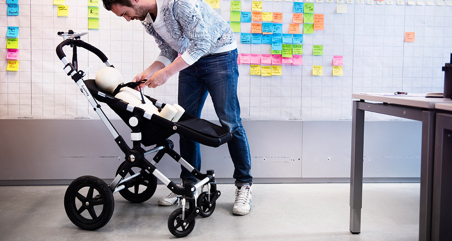 Bugaboo Cameleon in action