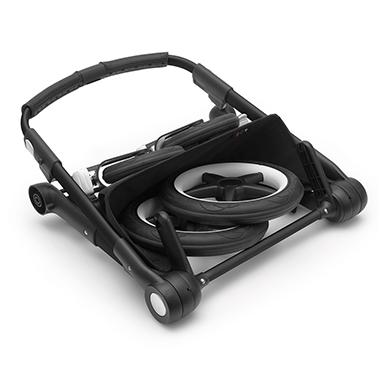 Estructura y chasis con ruedas
