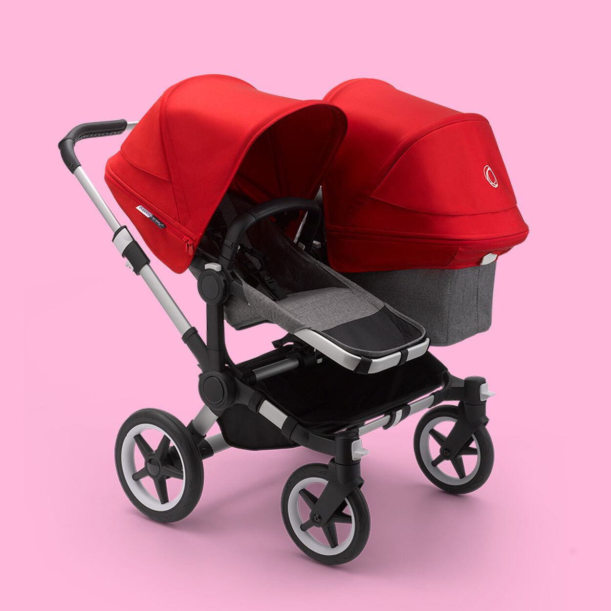 Donkey 3 Twin stroller with seat and bassinet