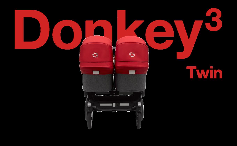 バガブー ドンキー 3 ツイン|双子用ベビーカー