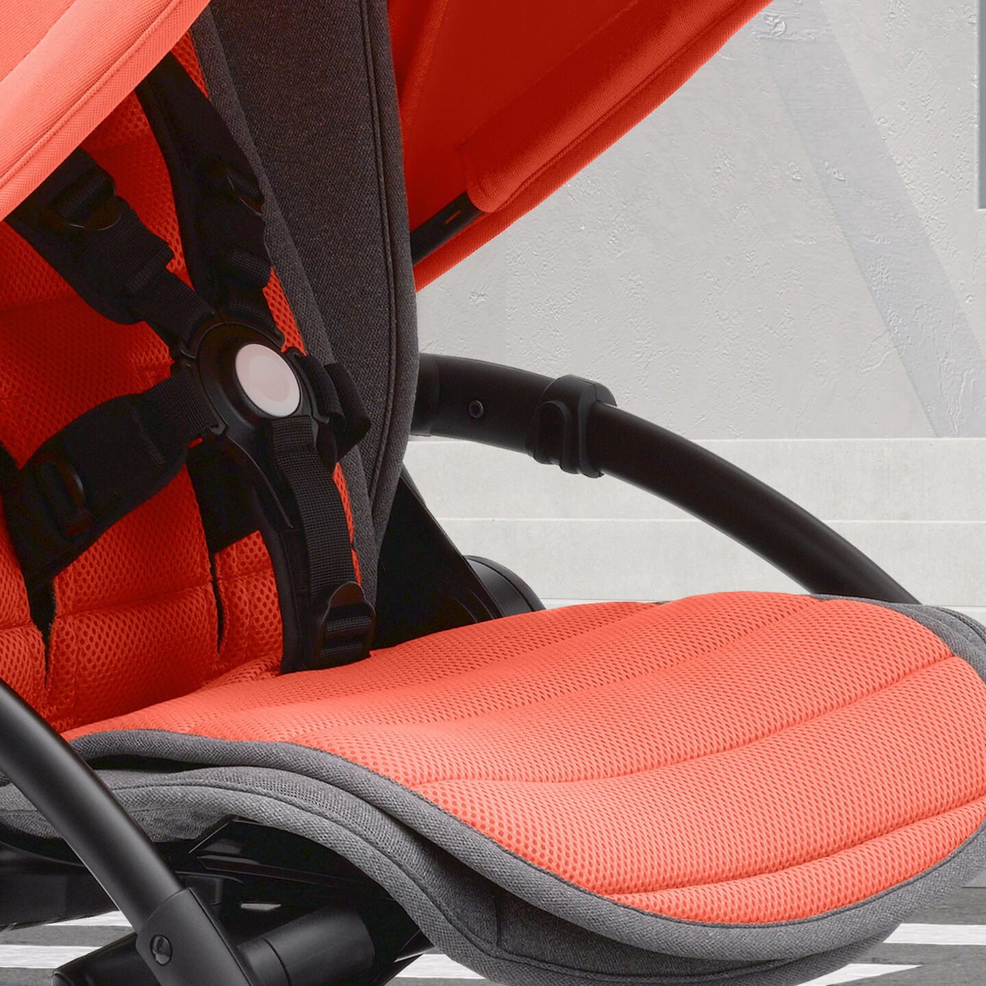 Bugaboo Bee 5 Coral specially designed double-sided seat liner