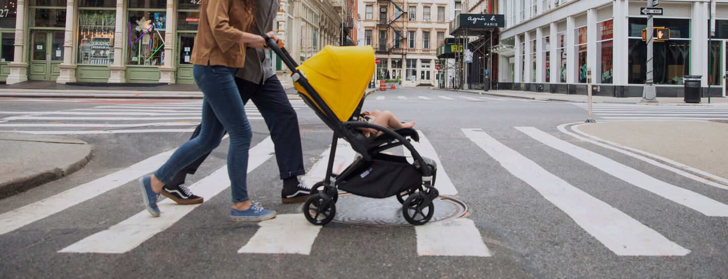 Compact strollers for city and travel