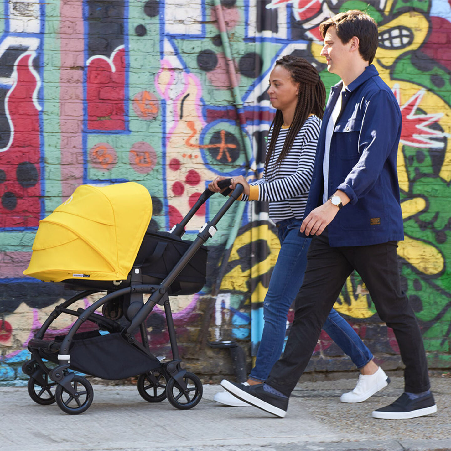 Bee6 stroller with bassinet