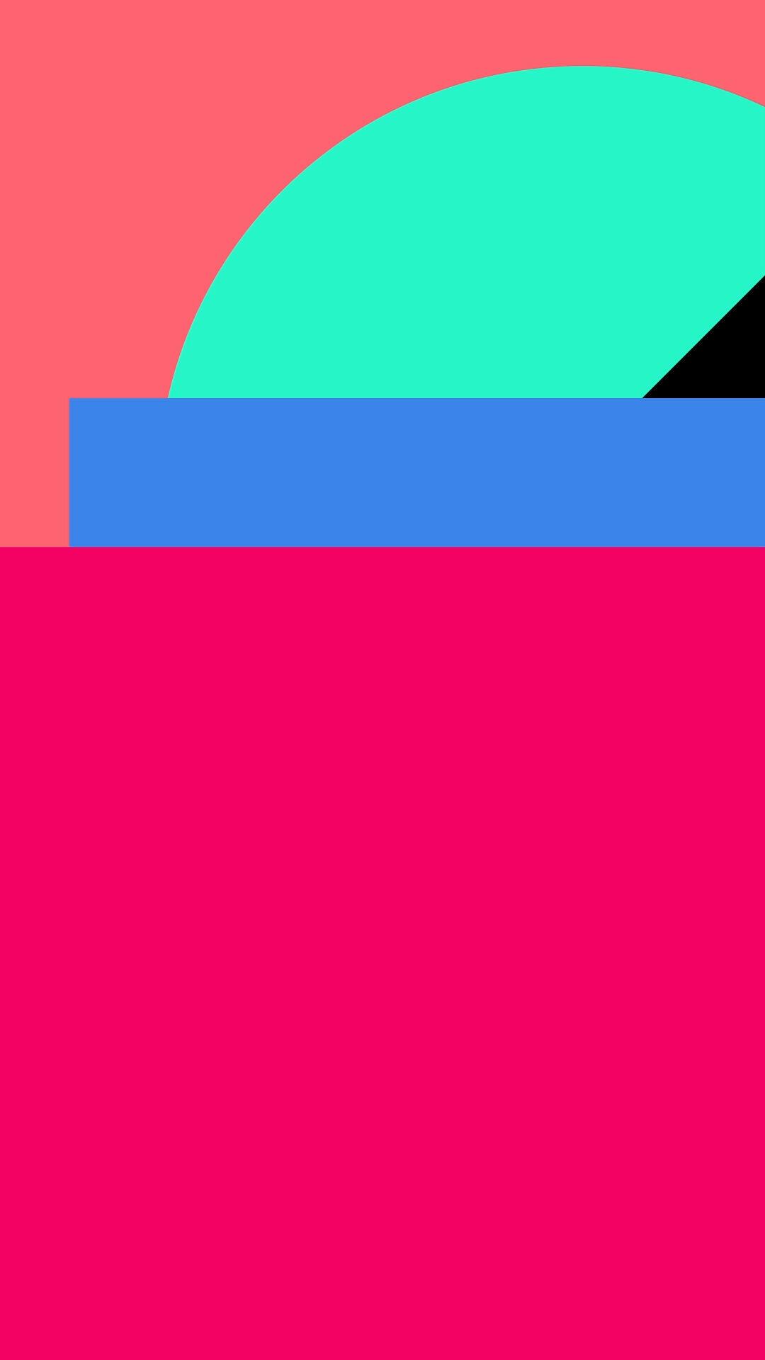 farbenfrohe Formen