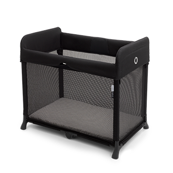 Bugaboo Stardust travel cot unfolded