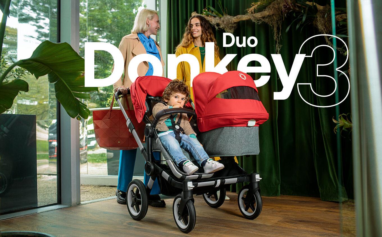 Bugaboo Donkey 3 Duo | Side by side double stroller