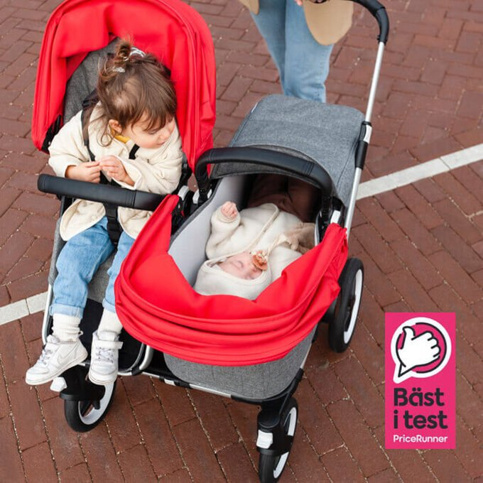 Bugaboo Donkey 3 best in test sibling stroller according to Pricerunner