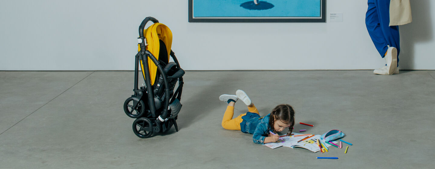 Compact strollers for city & travel
