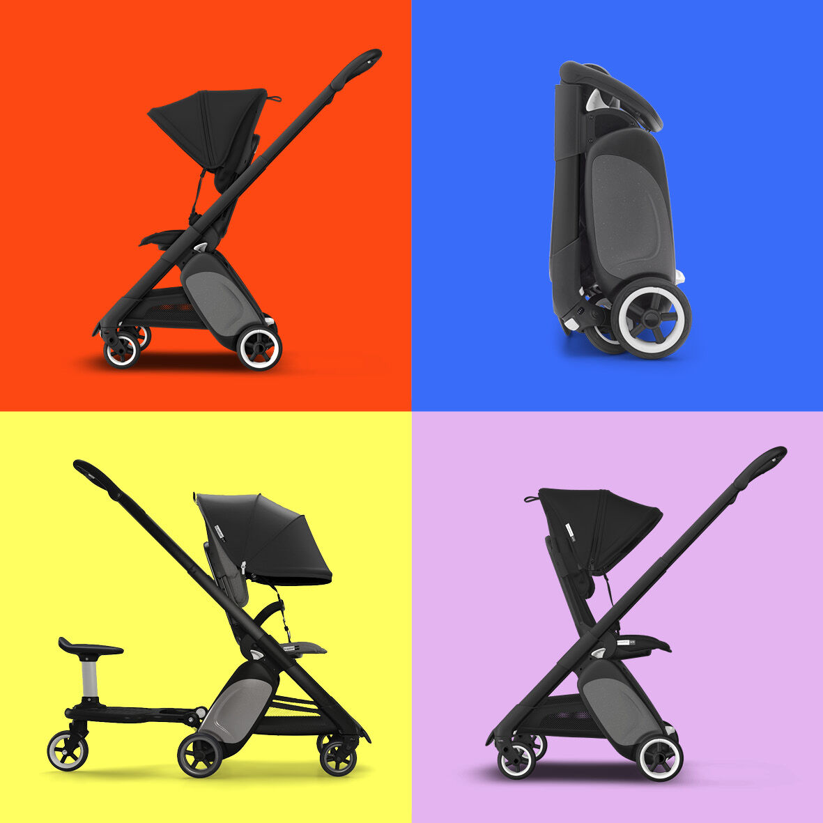 Versatile Bugaboo Ant ultra compact stroller