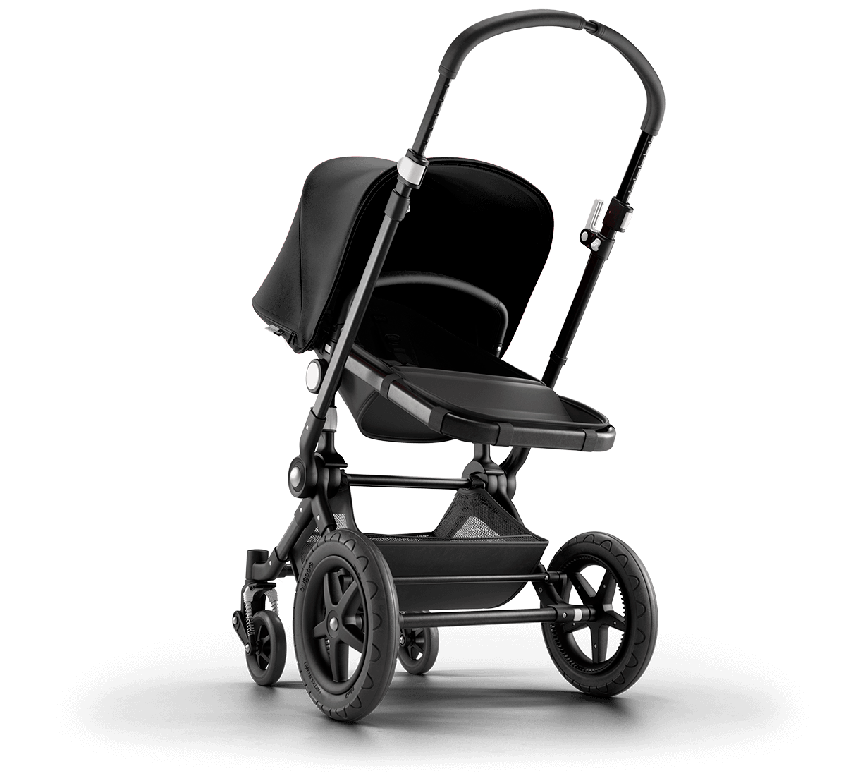 Bugaboo Cameleon 3 Plus complete stroller with black fabrics and black frame