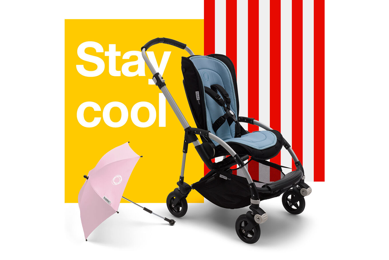 Stroller accessories for summer | Shop now | Bugaboo.com | Bugaboo DK