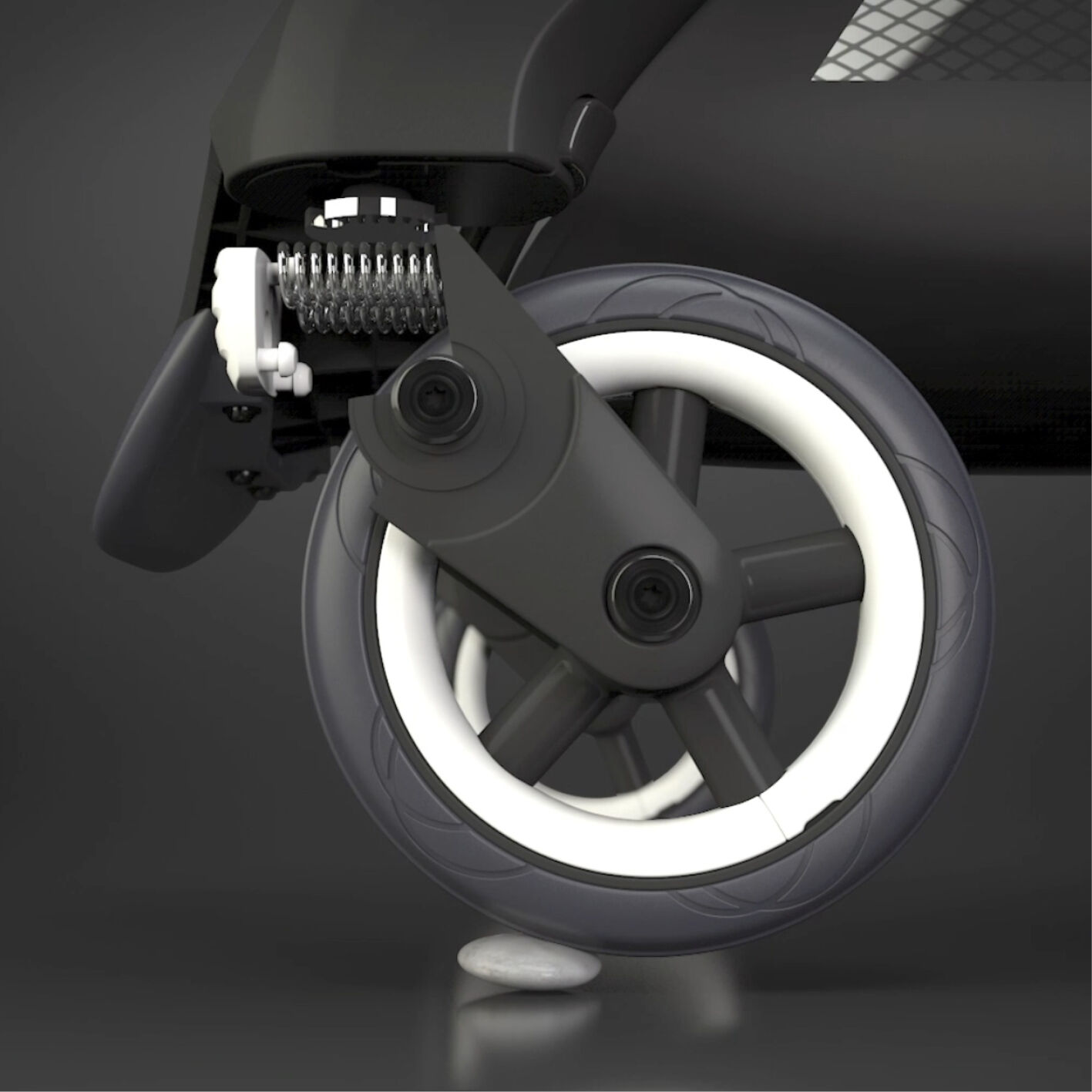 Bugaboo Ant nimble wheels with advanced suspension