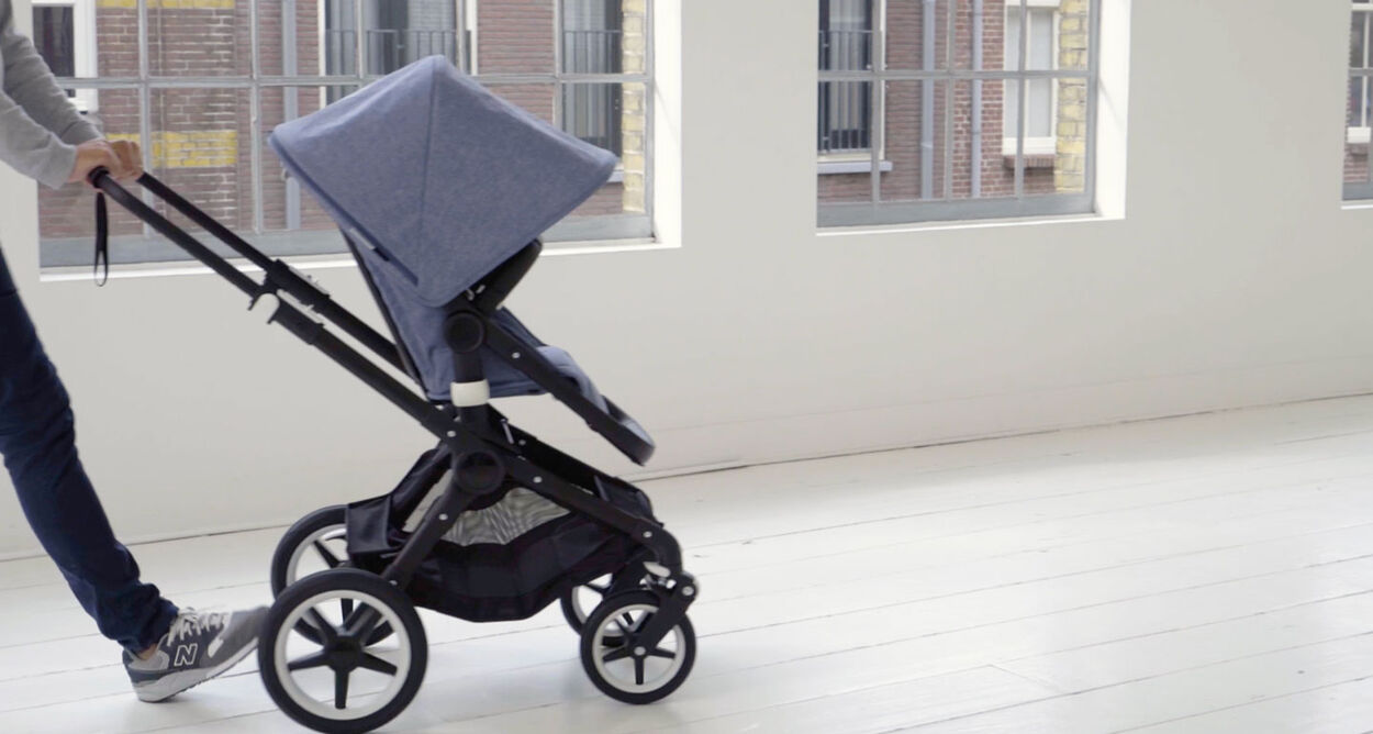 Bugaboo Fox in action