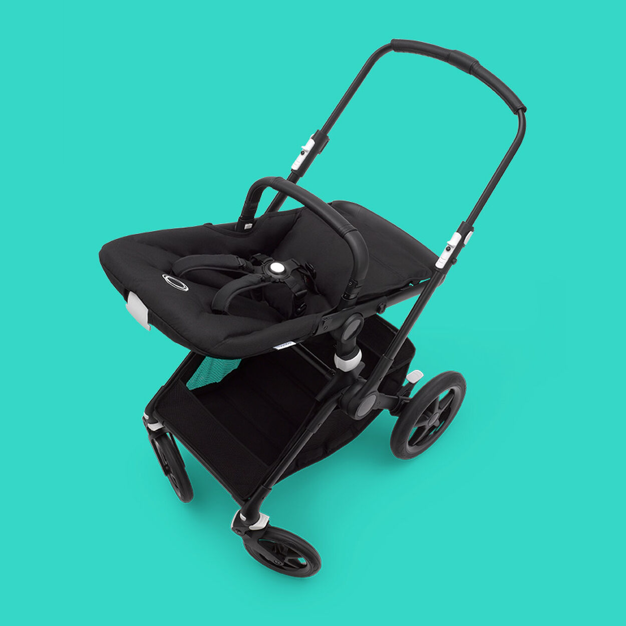 Bugaboo Fox 2 stroller chassis and seat