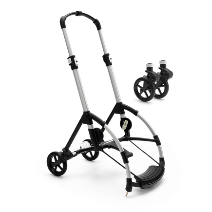 Chassis with wheels for the Bugaboo Bee 6 pram