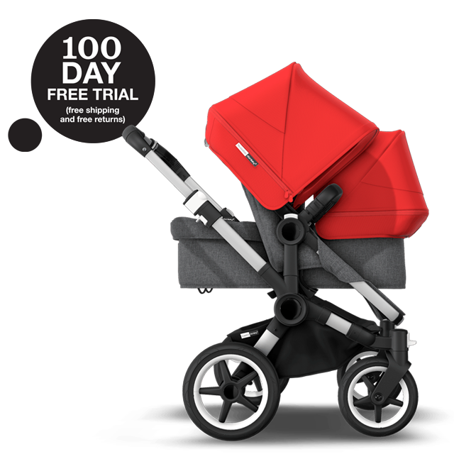 Bugaboo Donkey 3 Duo | Double strollers | Bugaboo US
