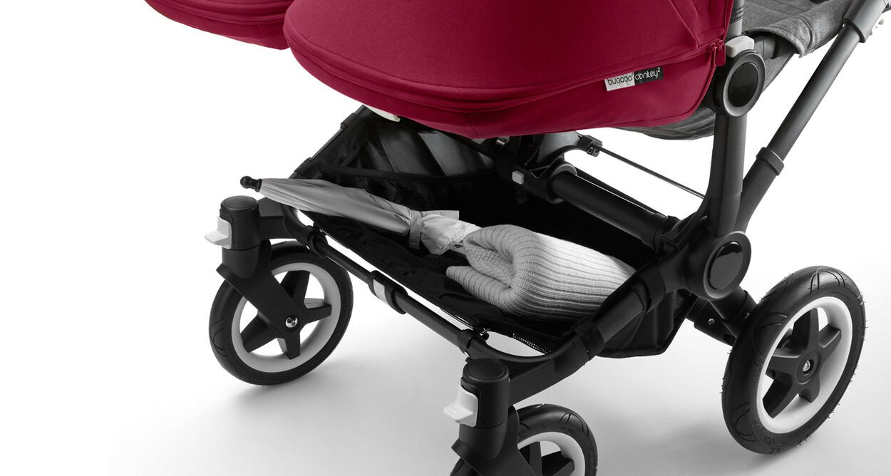 Bugaboo Donkey Twin in Aktion
