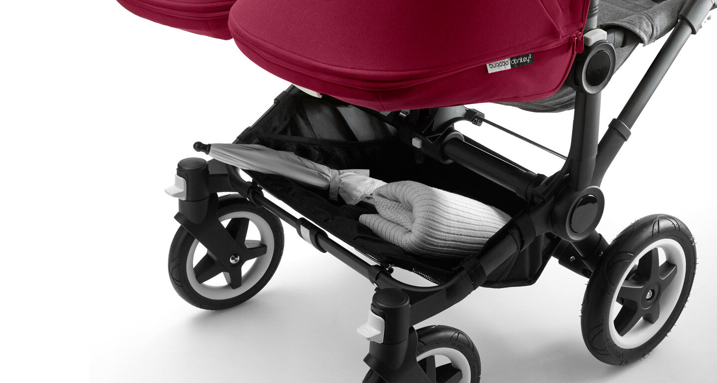 La Bugaboo Donkey Twin en action