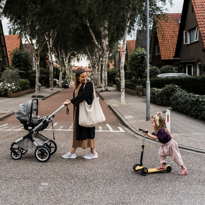 Everything you need for an effortless journey. From car to stroller and back, so that you can simply enjoy the ride.