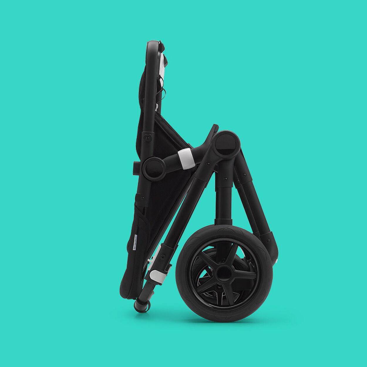 Fox 2 stroller folded up
