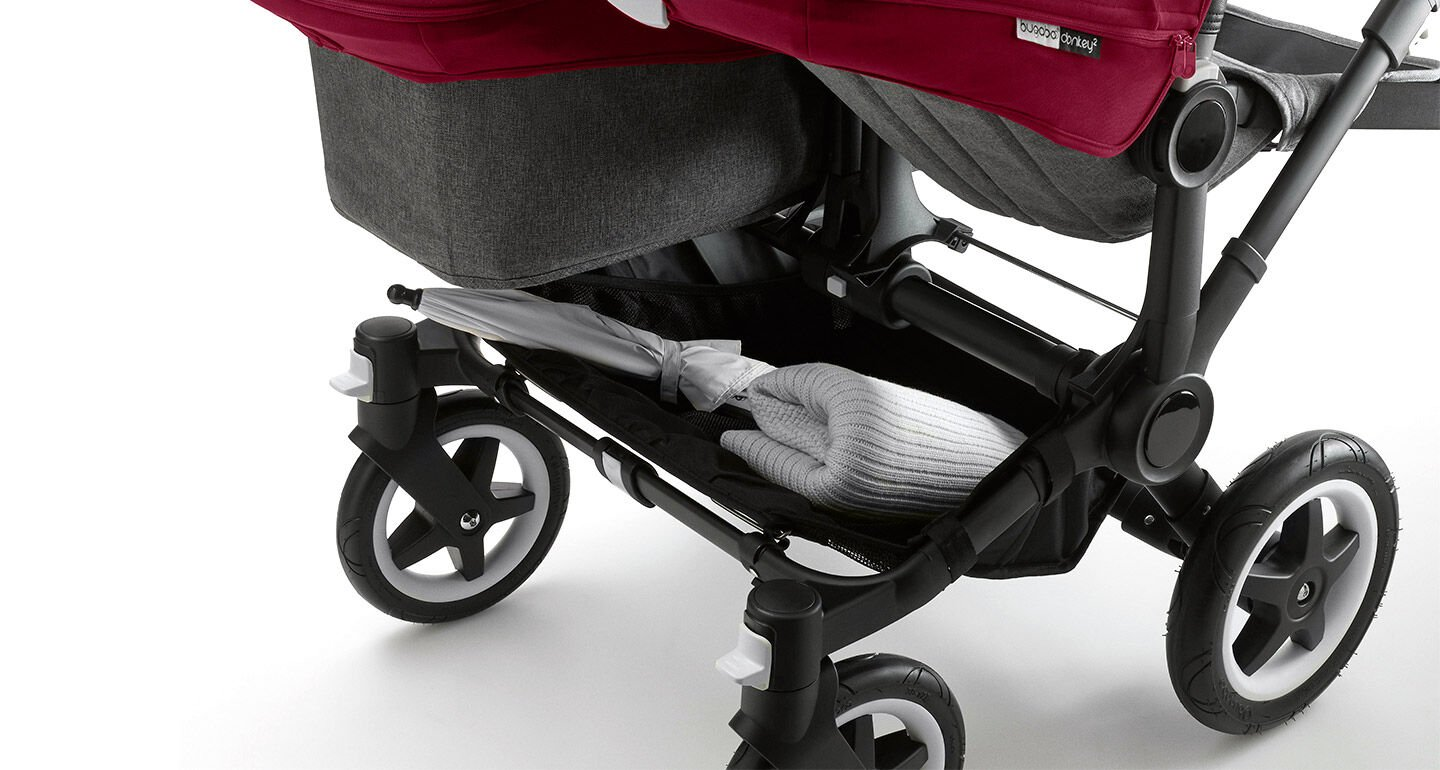 La Bugaboo Donkey Duo en action