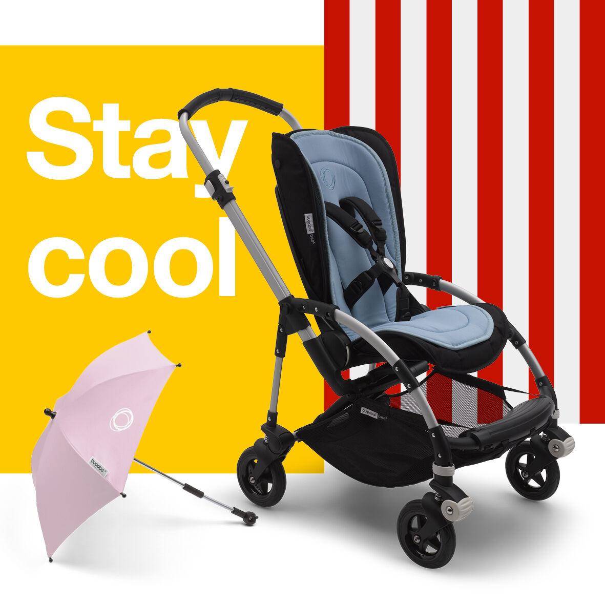 Bugaboo breezy sun canopy and parasol