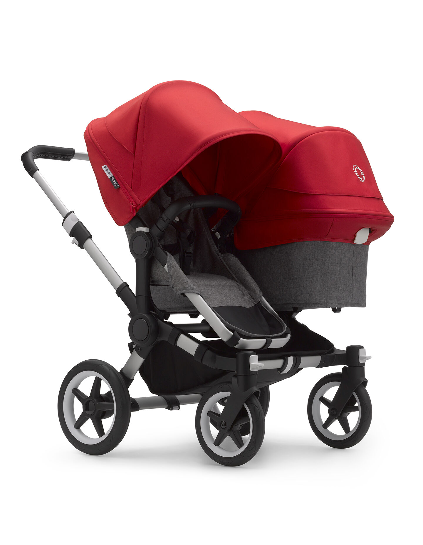 Bugaboo Donkey2 Complete Mono Stroller The Most Spacious Foldable Stroller with The Option to Expand to a Double Black//Black