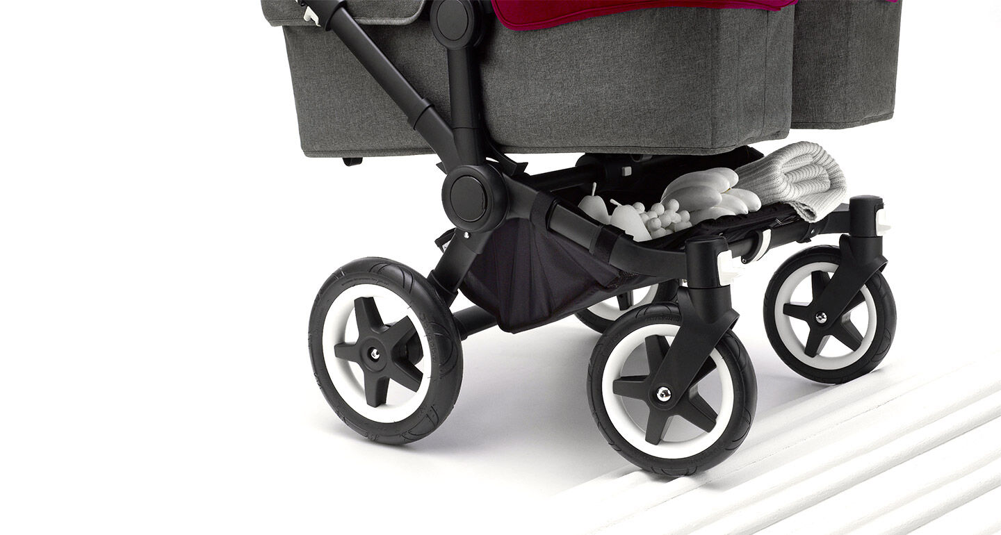 Bugaboo Donkey Twin in action