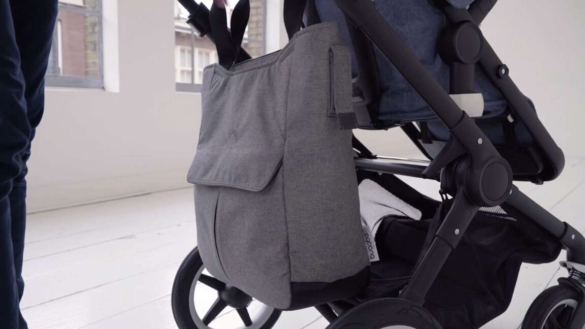 Using the bugaboo mammoth bag