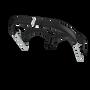 Bugaboo Donkey lederlook upgrade-set (4 Teile)