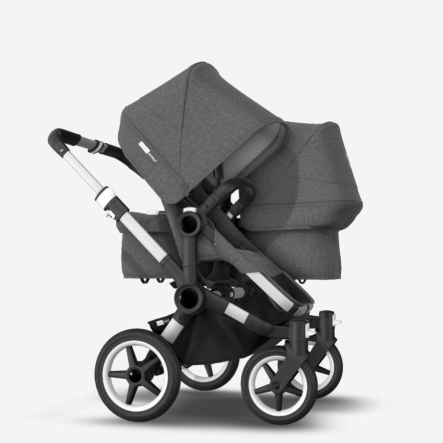 Bugaboo Donkey 3 Duo kinderwagen met wieg en stoel