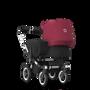Bugaboo Donkey 2 Mono kinderwagen met wieg en stoel