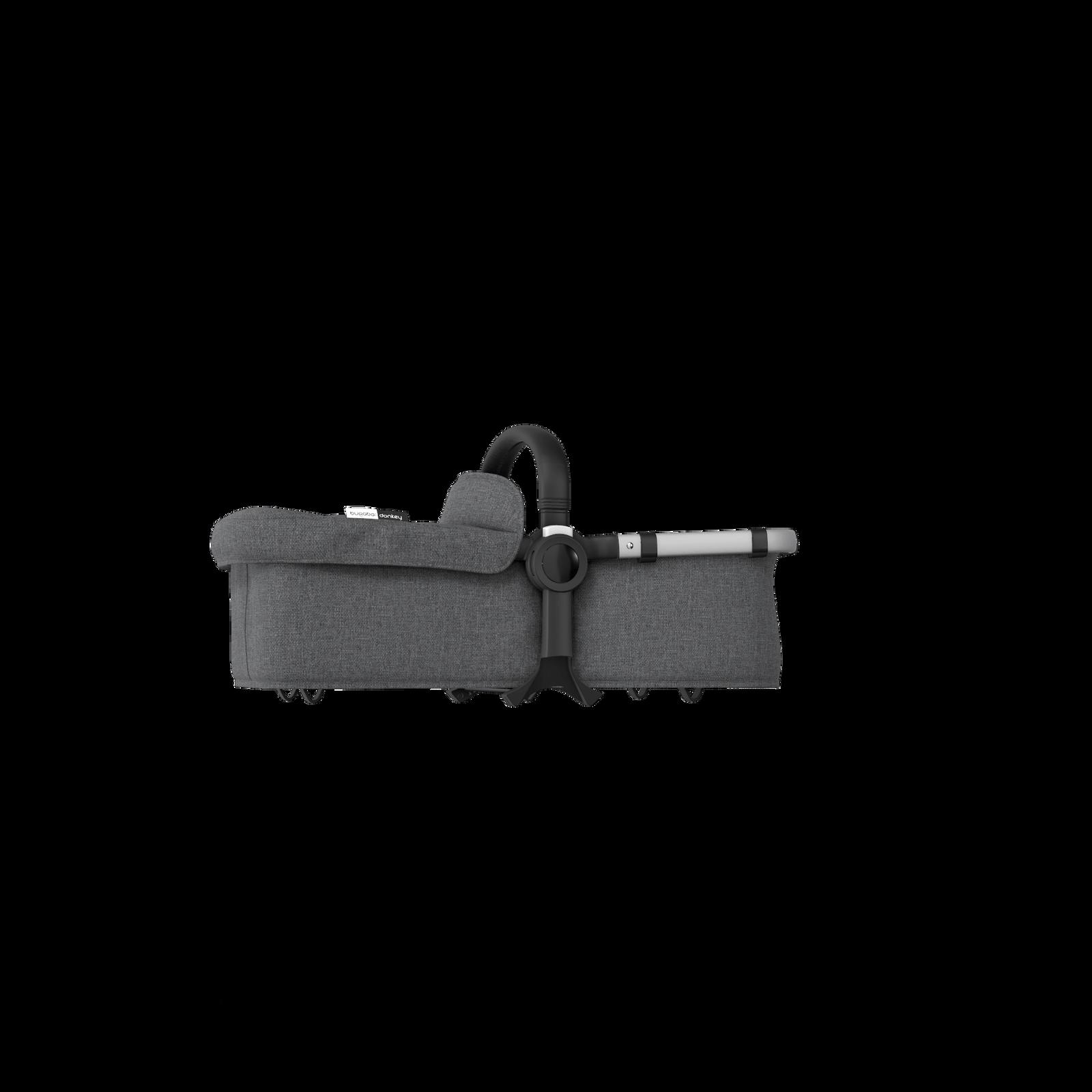 Bugaboo Donkey 2 bassinet fabric complete Grey Melange