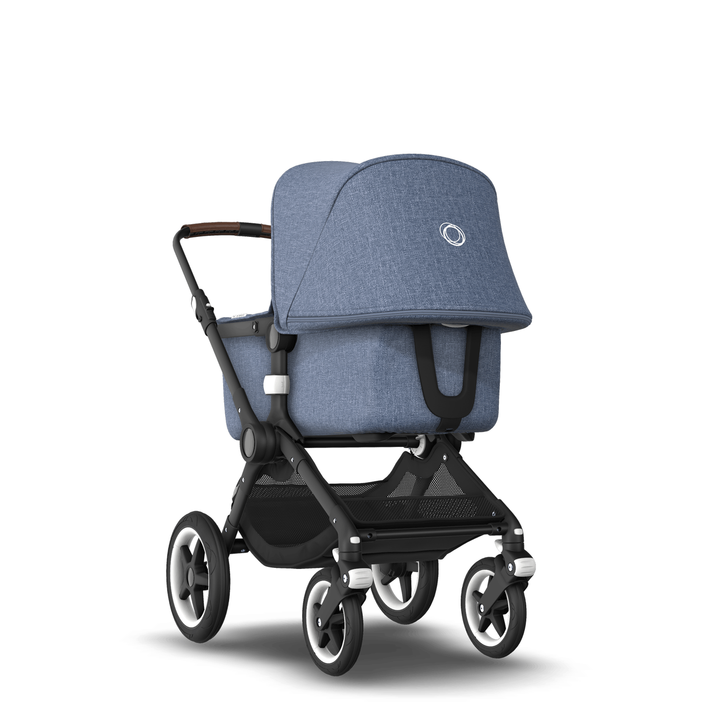 US - Bugaboo Fox stroller bundle Black blue melange