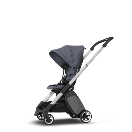 Bugaboo Ant seat stroller steel blue sun canopy, steel blue fabrics, aluminium base