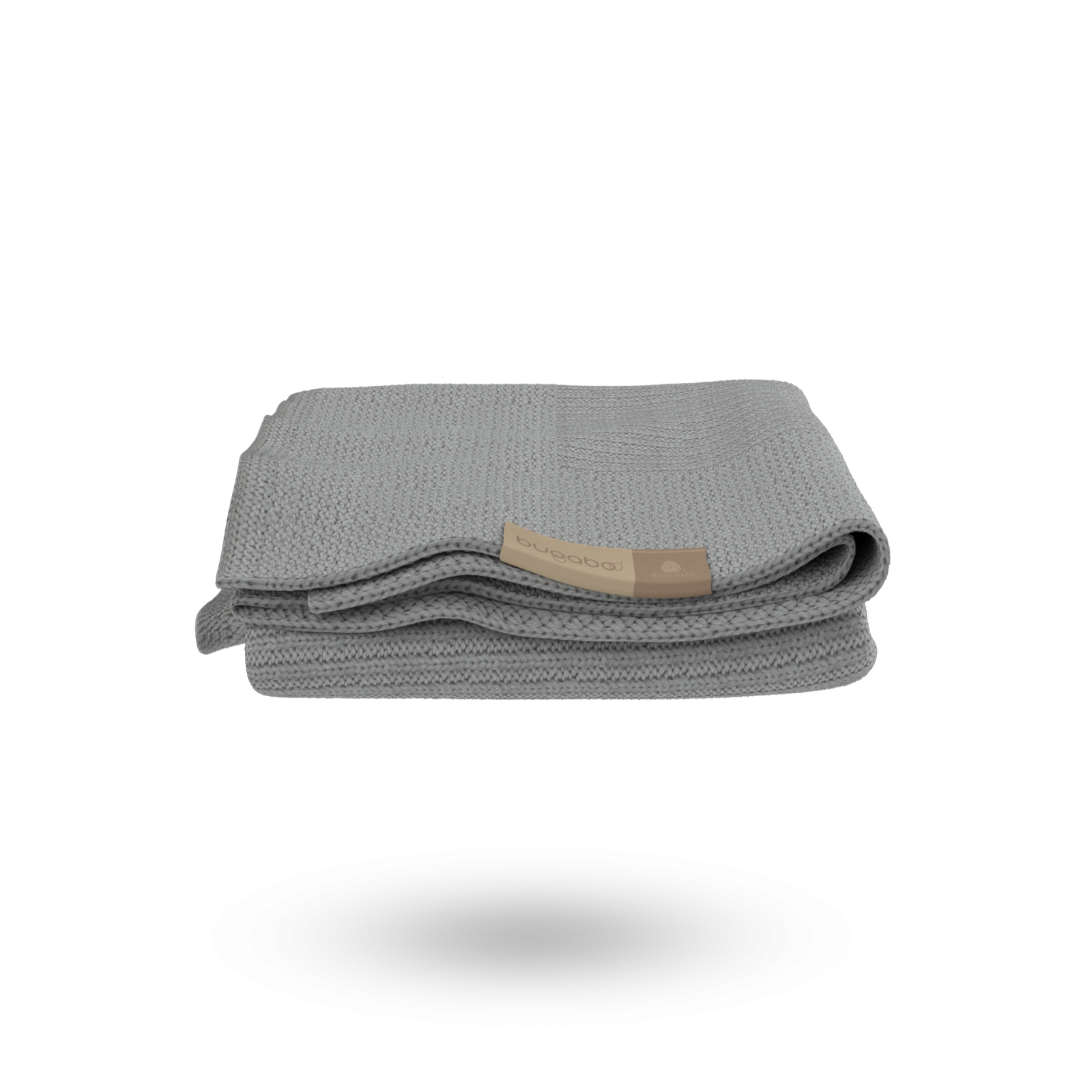 Bugaboo soft wool blanket Light Grey Melange