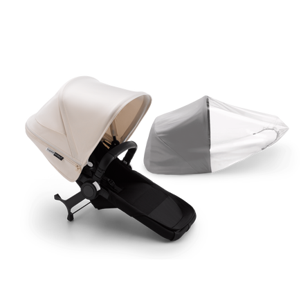 Bugaboo Donkey3 duo extension compl ASIA BLACK/BLACK-WHITE