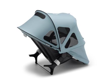 Bugaboo Fox2/Cameleon3 breezy sun canopy VAPOR BLUE