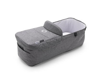 Donkey 3 carrycot fabric complete | UK | Grey mélange