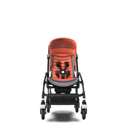 US - Bee 5 seat stroller Coral collection, black chassis