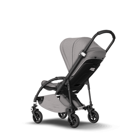US - B5 stroller bundle black, mineral light grey