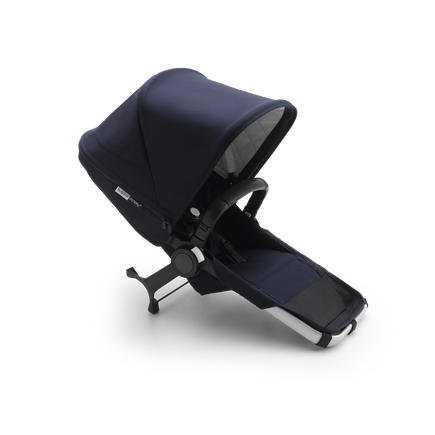 Bugaboo Donkey 3 Classic duo extension complete | ALU/DARK NAVY