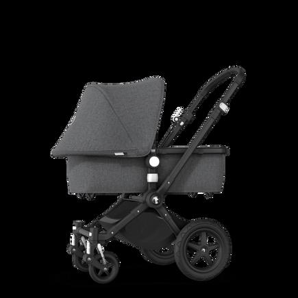 EU - Cameleon 3+ Seat and Bassinet stroller grey melange (nr) sun canopy, grey melange fabrics, black base