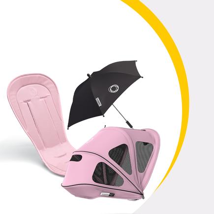US - Bee summer bundle soft pink 